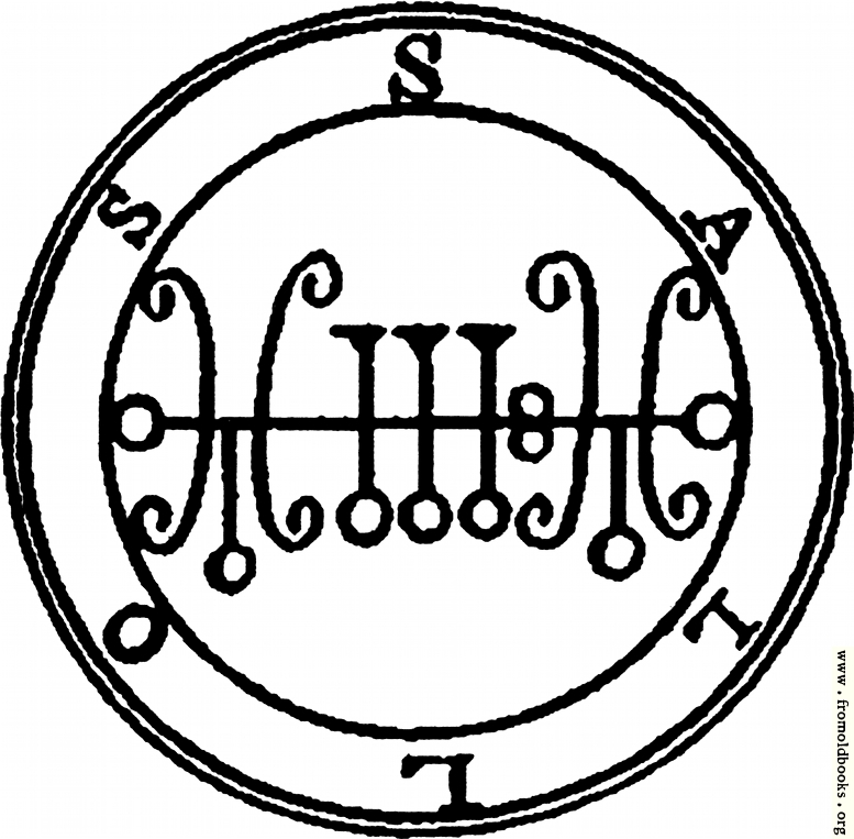 [Picture: 19. Seal of Sallos.]