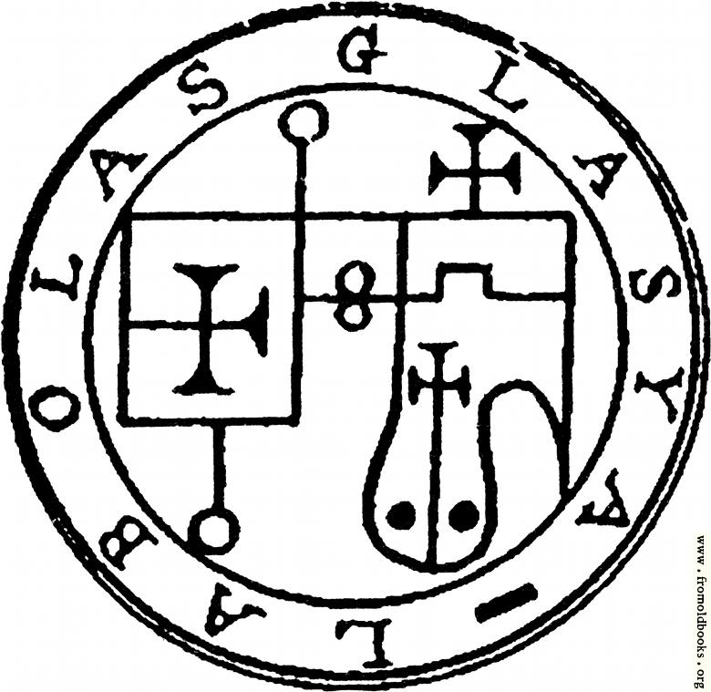 [Picture: 25. Seal of Labolas.]
