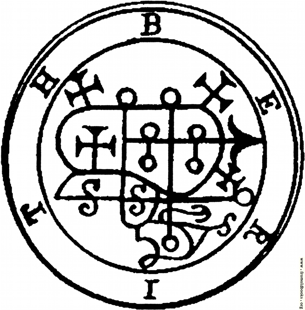 28. Seal of Berith. Baal Berith Demon