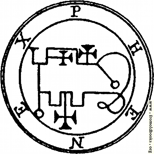 [Picture: 37. Seal of Phenex or Pheynix.]