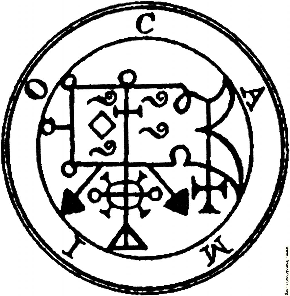 [Picture: 53. Seal of Camio, or Caïm.]