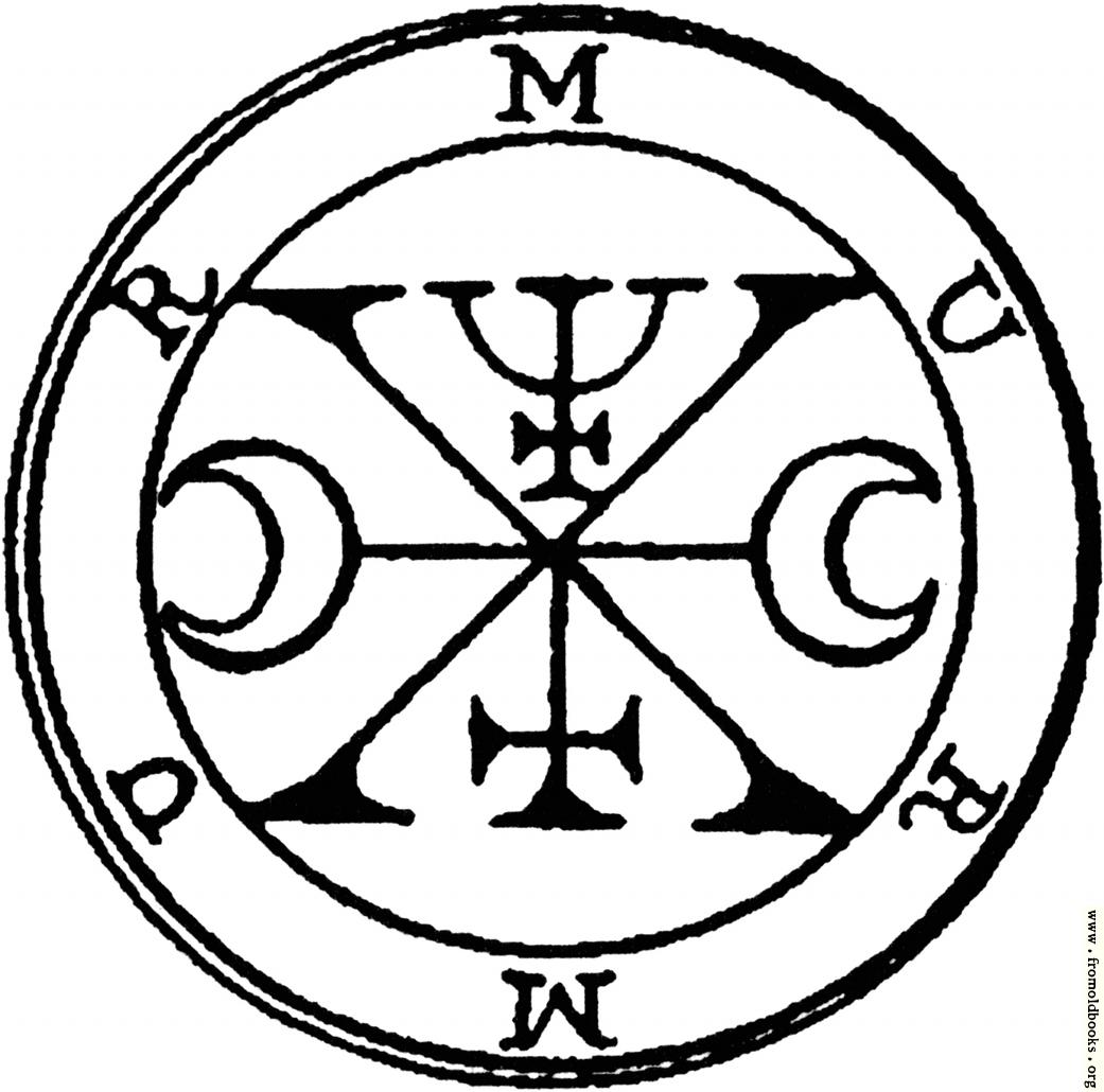 [Picture: 54. Seal of Murmur, Murmus, or Murmux.]