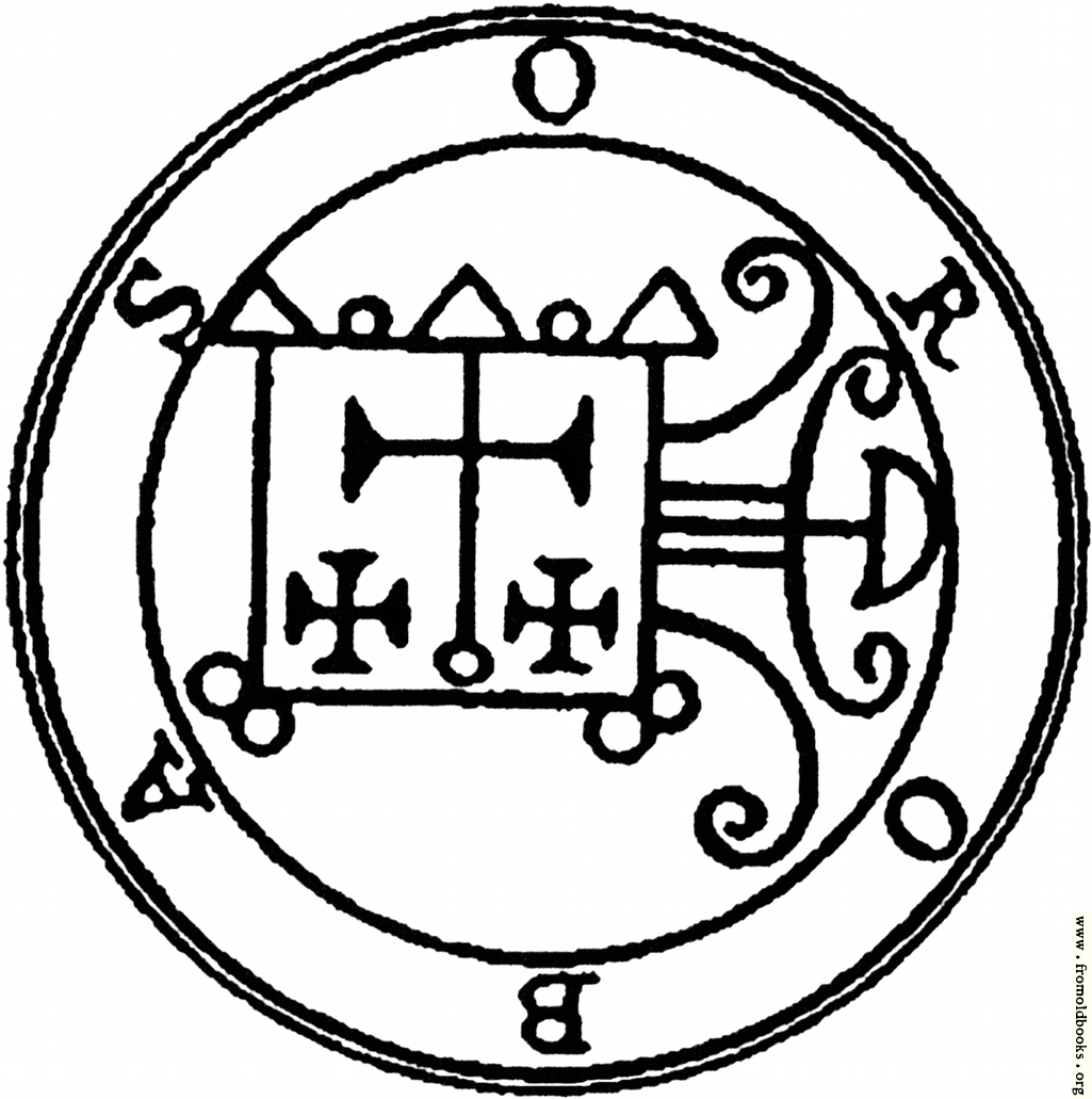[Picture: 55. Seal of Orobas.]
