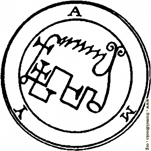 [Picture: 58. Seal of Amy, or Avnas.]