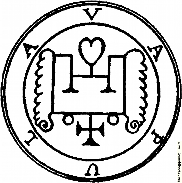 [Picture: 60. Seal of Vapula, or Naphula.]