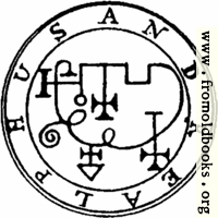 [Picture: 65. Seal of Andrealphus.]