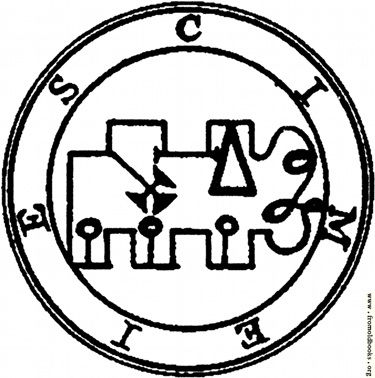 [Picture: 66. Seal of Cimejes, Kimaris.]