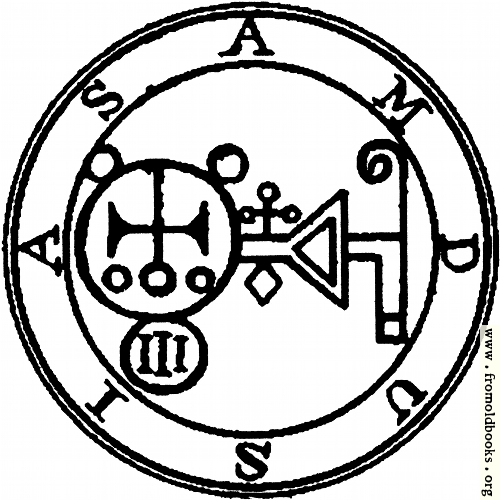 [Picture: 67. Seal of Amdusias or Amdukia.]
