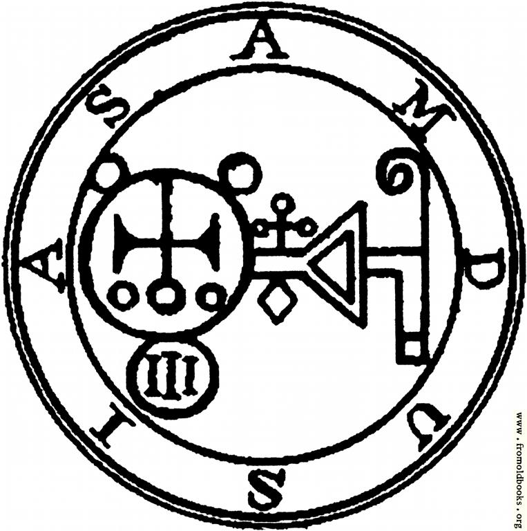 [Picture: 67. Seal of Amdusias or Amdukia.]