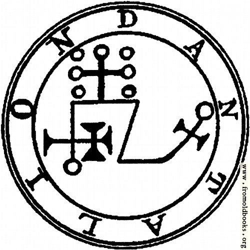 [Picture: 71. Seal of Dantalion.]