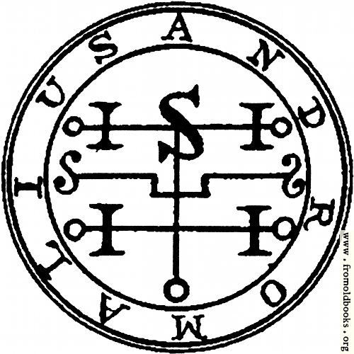 [Picture: 72. Seal of Andromalius.]