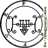 [picture: 34. Seal of Furfur.]