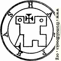 [picture: 38. Seal of Halphas, or Malthus.]