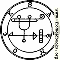 [picture: 43. Seal of Sabnock.]