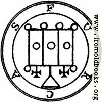 [picture: 50. Seal of Furcas.]