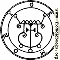 [picture: 56. Seal of Gremory, or Gamori.]