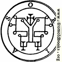 [picture: 59. Seal of Oriax, or Orias.]