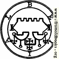 [picture: 68. Seal of Belial.]