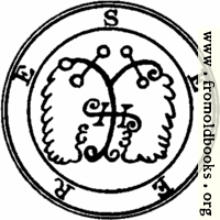 [picture: 70. Seal of Seere, Sear, or Seir (2).]