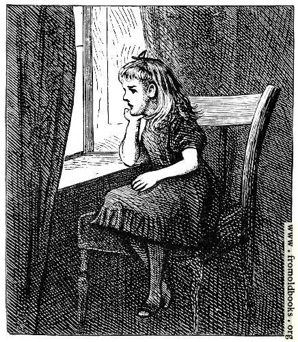 [Picture: Fanny in the Library.]