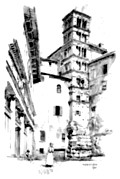 [Picture: Campanile and Façade of S S. Giovanni e Paulo]