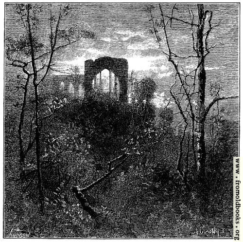 [Picture: The Old Ruined Abbey]