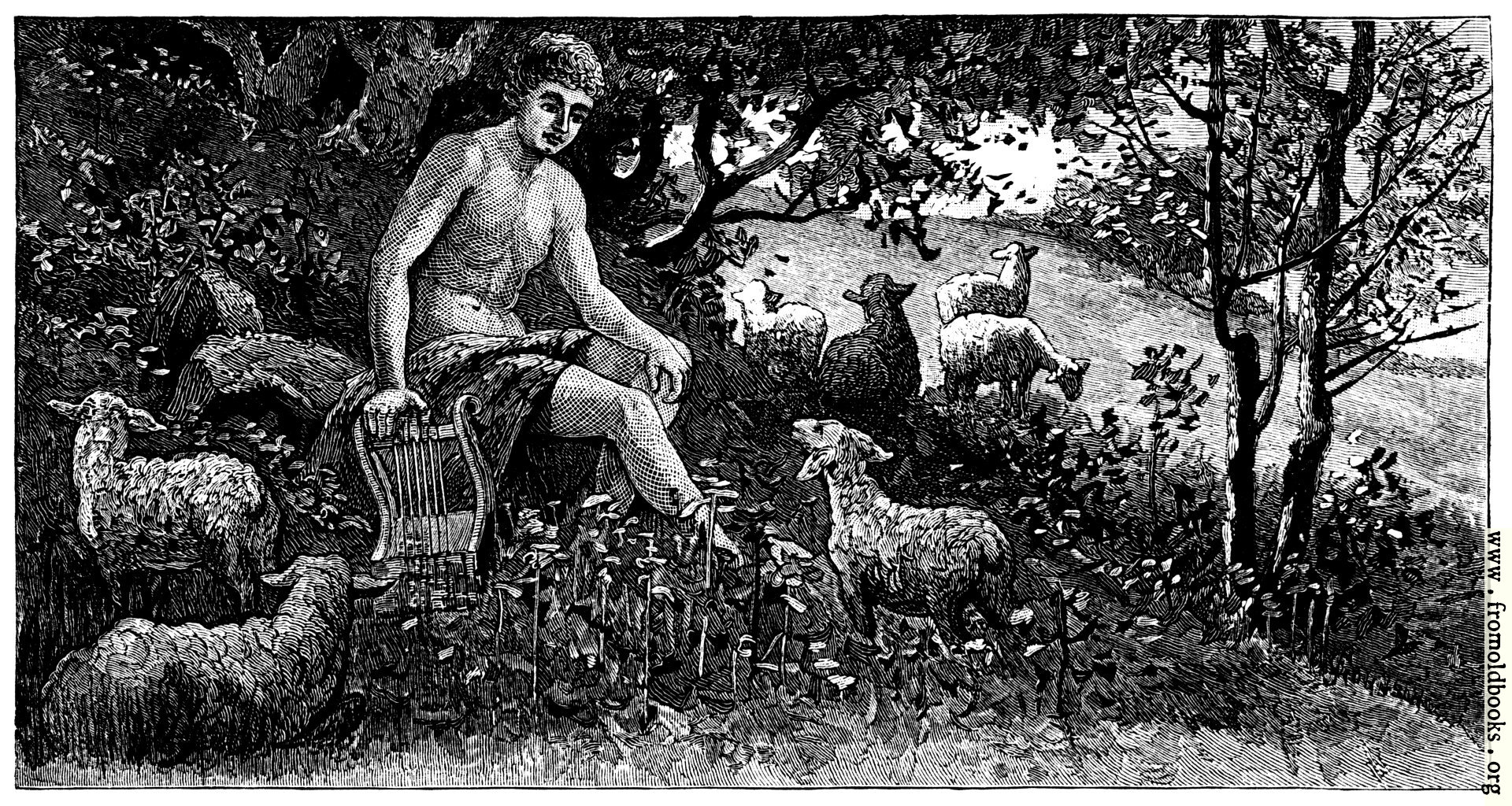 [Picture: The sheep of Apollo]