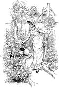 Frontispiece: Watering My Flowers