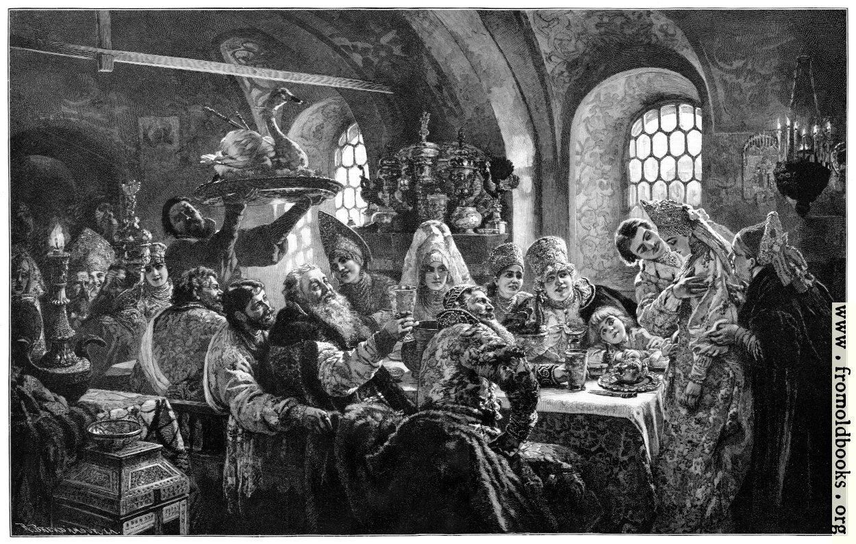 [Picture: A Boyar Wedding Feast]