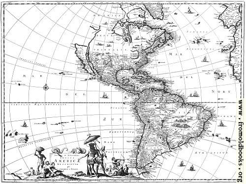 [Picture: Map of the Americas]