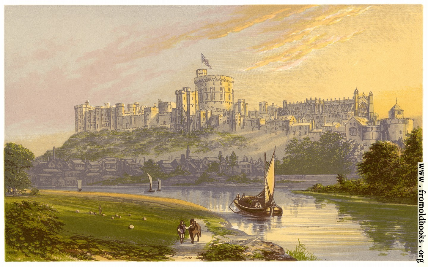 [Picture: Windsor Castle, The Royal Residence]