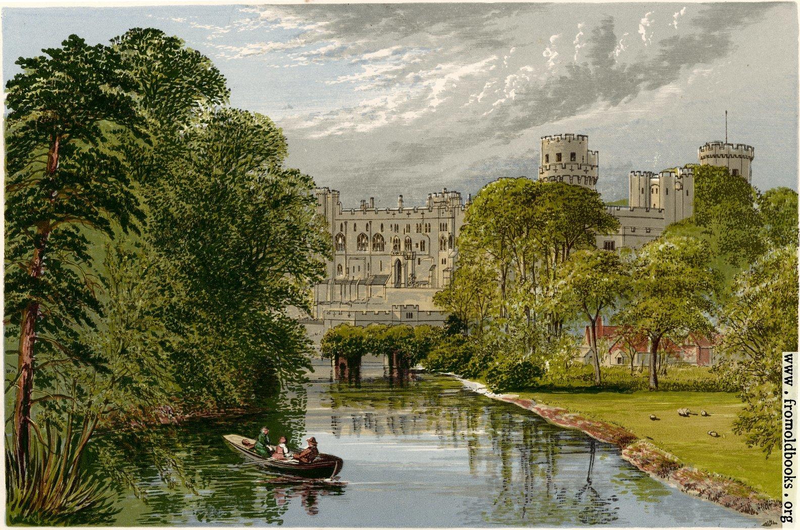 [Picture: Warwick Castle.—Earl of Warwick]
