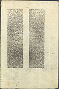 Recto, unidentified eary printed page