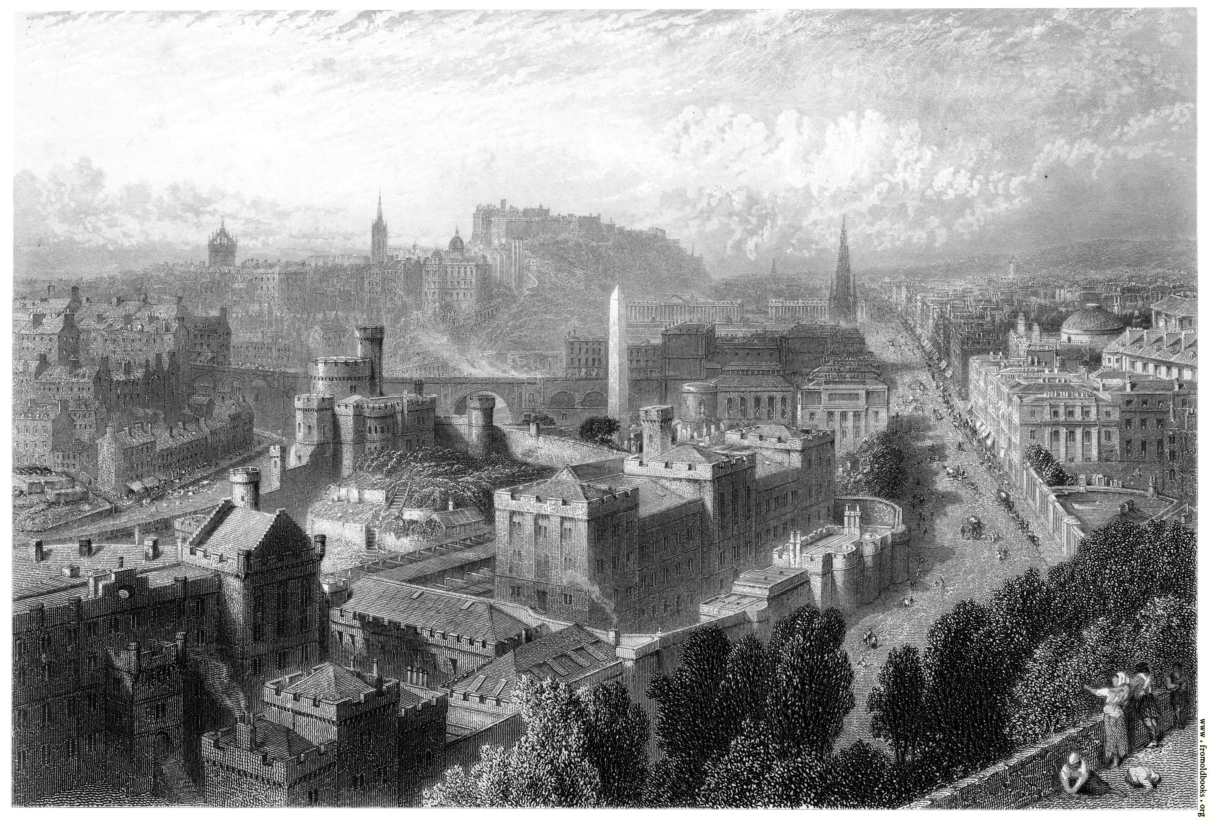 [Picture: Edinburgh from Calton Hill]