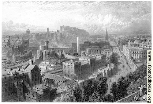 [Picture: Edinburgh from Calton Hill]