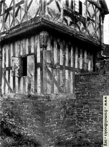 [Picture: Overhang—Stokesay Castle]