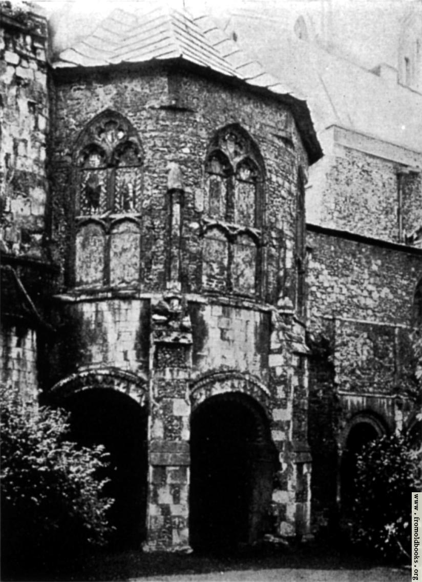 [Picture: The Baptistry, Canterbury]