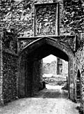 [picture: Framlingham Gate]