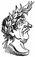 [Picture: Bust of Cæsar.]