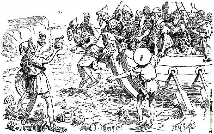 [Picture: The Discovery of Tin in Britain]