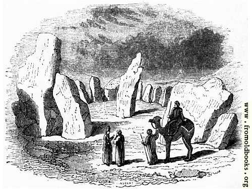 [Picture: 7.—Druidical Circle at Darab]