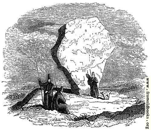 [Picture: 8.—Druidical Stone in Persia.]
