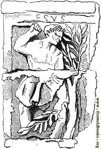 [Picture: 12.—Gaulish Deity.  Hesus.]