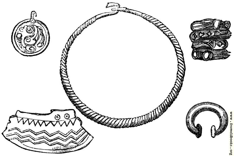 [Picture: 30.—Ornaments and Patterns of the Ancient Britons]