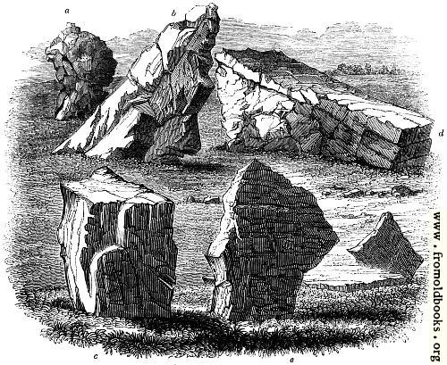 [Picture: 34.—Stones at Stanton Drew]