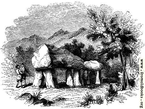 [Picture: 40.—Cromlech at Plas Newydd, Anglesey]