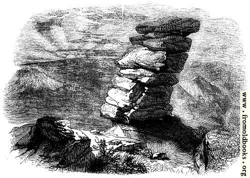 [Picture: 46.—Kilmarth Rocks, as seen from the South East.]