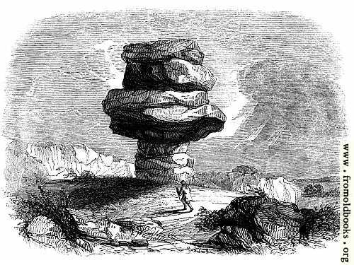 [Picture: 47.—The Cheesewring, as seen from the North-west.]