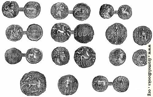 [Picture: 68.—Ancient British Coins.]