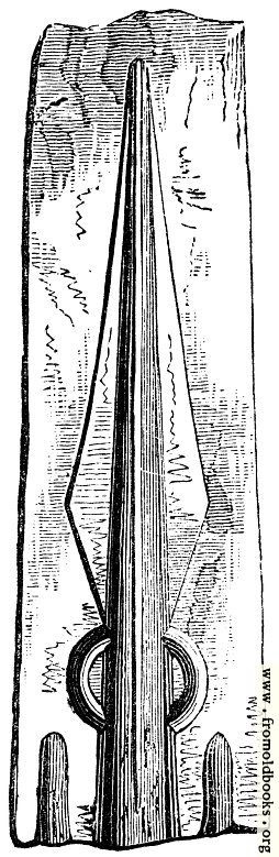 [Picture: 72.—Spear Mould.]